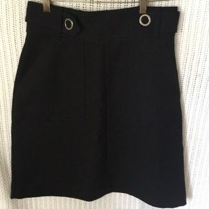 H&M Black Skirt SZ 10